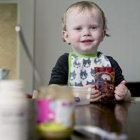 Sådan spiser børn med glæde