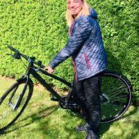 Legatmodtager: Cyklen skulle hjælpe mig tilbage til de gode vaner med motion efter en operation