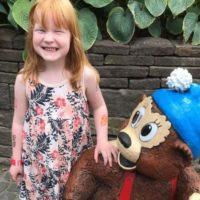 Legatmodtager Nicoline på 6 år fik sin ønsketur i Tivoli