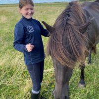 Legatmodtager Selina fik fem gode dage til hest – og tiltrængt alenetid med mor
