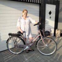 Fik legat til cykel: Jeg kan ikke få armene ned