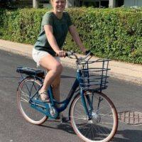 Jeg kommer til at tage cyklen meget oftere